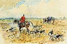 Lionel Edwards The York And Ainsty Hunt