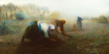 William Brock The Potato Diggers Gouttelette