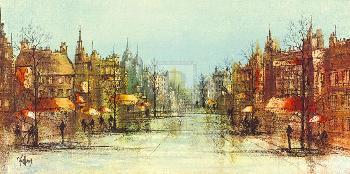 Ron Folland Autumn Boulevard Gouttelette