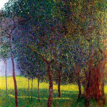 Gustav Klimt Fruit Trees Gouttelette