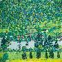 Gustav Klimt Waldabhang In Unterach Am Attersee