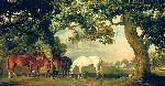 George Stubbs Green Pastures (a Family Group)