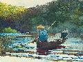 Winslow Homer Boy Fishing, 1892