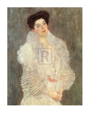 Gustav Klimt Portrait Of Hermine Gallia Gouttelette