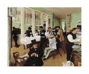 Edgar Degas A Cotton Office In New Orleans, 1873 Gouttelette