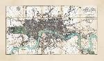 John Rocque Map Of London In Miniature, 1806