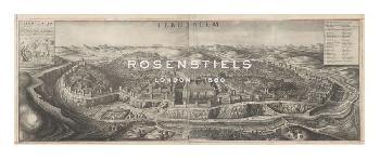 Hollar Wenceslaus View Of Jerusalem Gouttelette