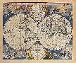 Nicholas Visscher Novissima Totius Terrarum Orbis Tabula, 1679