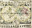 Adam Friedrich Zurner Planisphaerium Terrestre Cum Utroque Coelesti Hemisphae