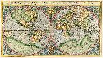 Rumold Mercator Orbis Terrae Compendiosa Descriptio, 1587