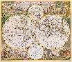 Frederick De Wit Nova Orbis Tabula In Lucem Edita, C1670