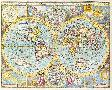 John Speed A New And Accurat Map Of The World, 1627 - 1651