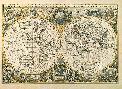 Henricus Hondius Nova Totius Terrarum Orbis Geographica Ac Hydrographica