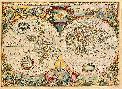 Hendrick Doncker Nova Totius Terrarum Orbis Geographica Ac Hydrographica