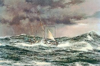 Montague Dawson Horn Abeam, Sir Francis Chichester