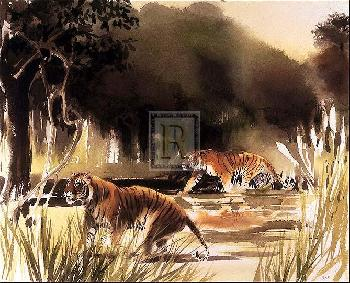 W. Weber Jungle Patrol Signed Limited Edition of 495