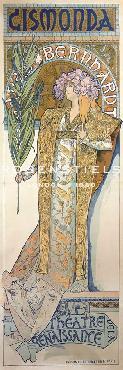 Alphonse Mucha Poster For