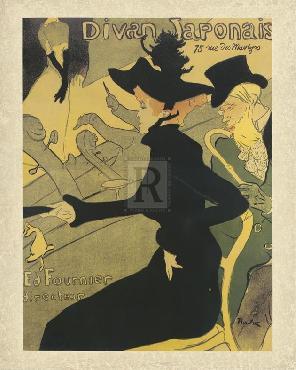 Henri De Toulouse-Lautrec Divan Japonais Giclee
