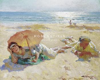 Charles Atamian Sunshine Giclee Canvas