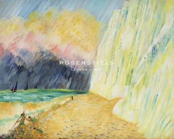 Sigrid Hjerten Chalk Cliffs Giclee Canvas