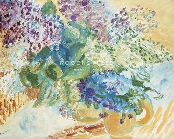 Sigrid Hjerten Flowers Giclee Canvas