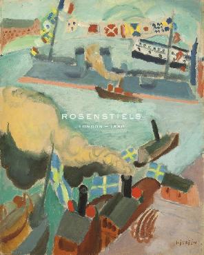 Sigrid Hjerten Flaggparaden,1914 Giclee Canvas