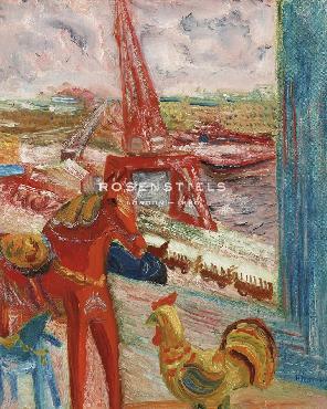 Sigrid Hjerten View Over Stadsgarden And Gamla Stan Giclee Canvas