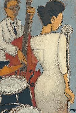 Marsha Hammel An Elegant Tone Giclee