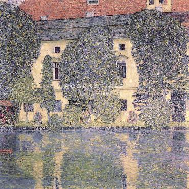 Gustav Klimt The Schloss Kammer Giclee