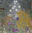 Klimt Flower Garden Giclee Canvas
