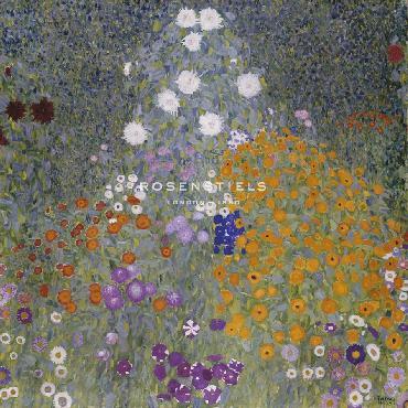 Gustav Klimt Flower Garden Giclee Canvas