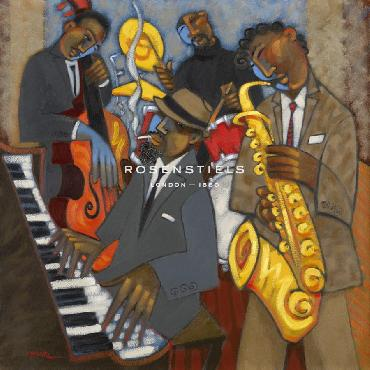 Marsha Hammel Thelonious Monk And His Sidemen Giclee Canvas