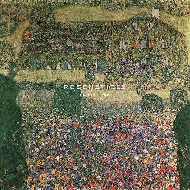 Gustav Klimt Country House By The Attersee Giclee