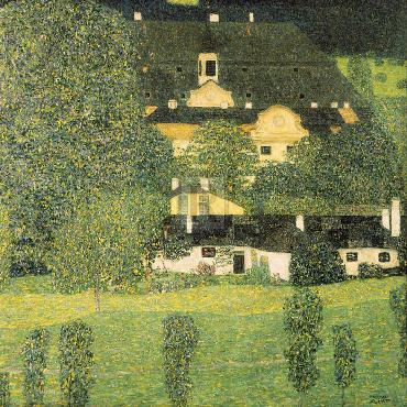 Gustav Klimt Schloss Kammer Am Attersee Giclee Canvas