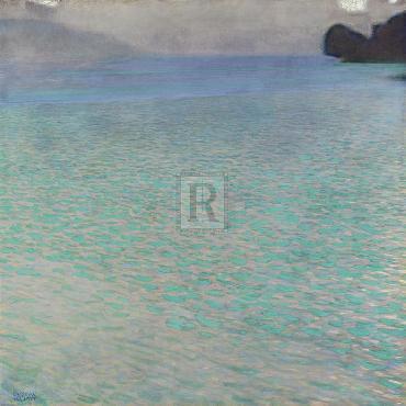 Gustav Klimt On Lake Attersee, 1900 Giclee