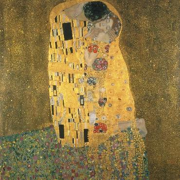 Gustav Klimt Kiss Giclee Canvas