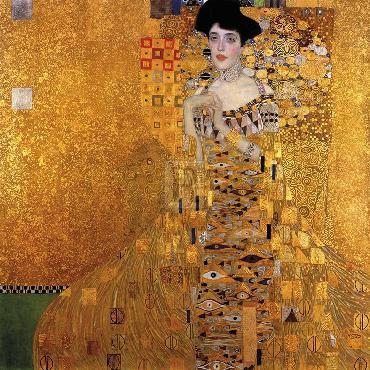 Gustav Klimt Adele Bloch - Bauer I Giclee Canvas