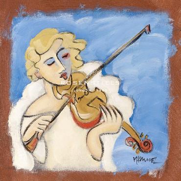 Marsha Hammel Angels In Harmony III Giclee