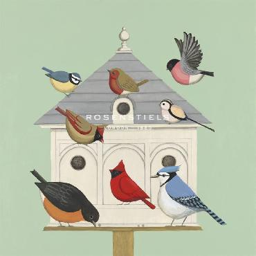Catriona Hall Dovecote I Giclee Canvas