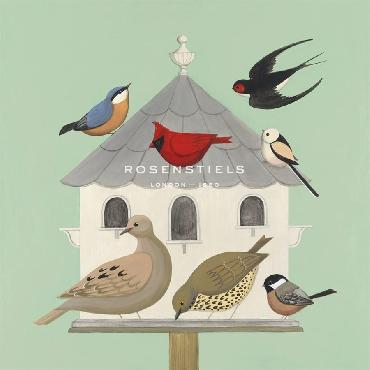 Catriona Hall Dovecote II Giclee Canvas