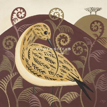 Catriona Hall Curious Curlew Giclee