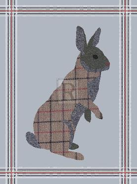 Fergus Dowling Textured Hare Giclee Canvas