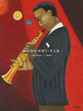 Marsha Hammel Coltrane Giclee Canvas