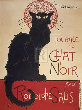 Theophile Alexandre Steinlen Le Chat Noir Giclee Canvas