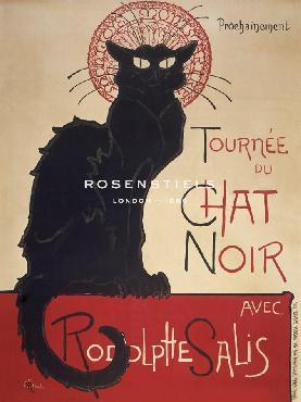 Theophile Alexandre Steinlen Le Chat Noir Giclee