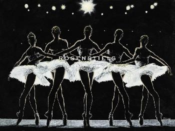 Richard Young Dance Finale Giclee Canvas
