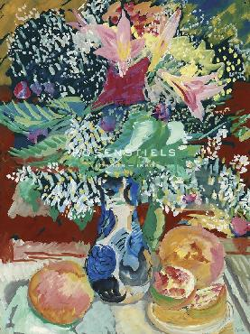 Sigrid Hjerten Still Life With Flowers Giclee Canvas