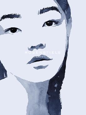 Aurora Bell Model Moment  -  Poise Giclee Canvas
