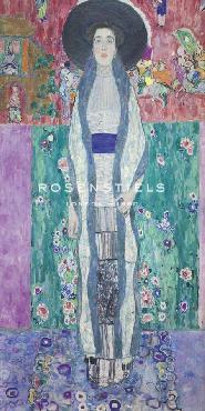Gustav Klimt Adele Bloch - Bauer II Giclee Canvas