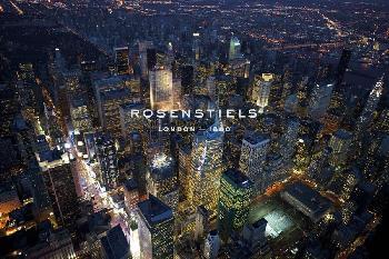 Jason Hawkes Sky VIew New York IV Giclee Canvas